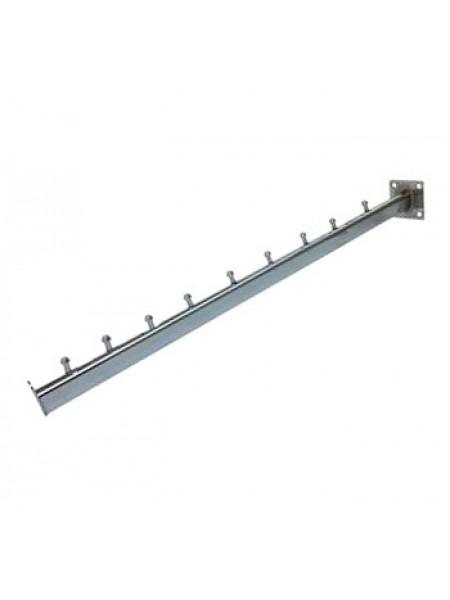 Флейта овального сечения на стену, 10 штырьков (50 см)