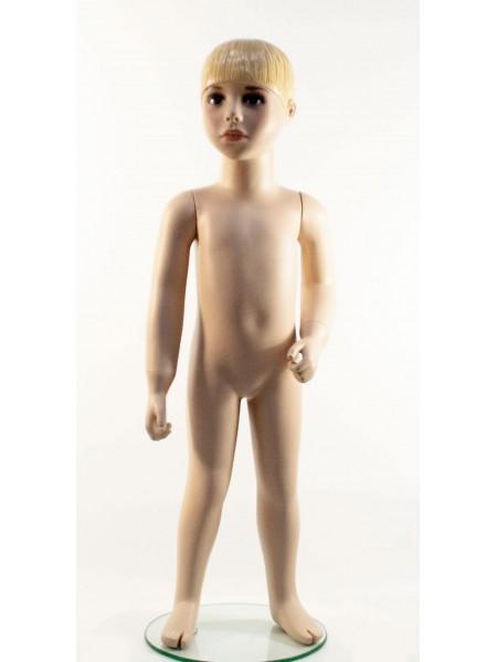 Манекен детский гипсовый реалистичный AL2 телесный мальчик