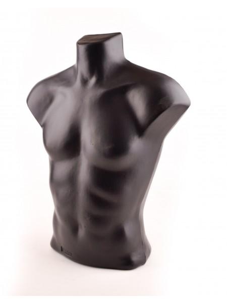 Манекен мужской торс Стас (черный)