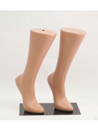 Подставка металлическая для манекенов ног с магнитами ( двойная)