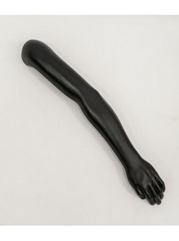 Манекен рука мужская черная до плеча правая