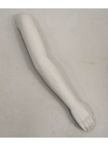 Манекен рука мужская белая до плеча левая
