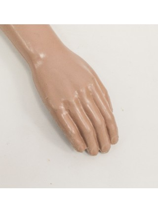 Манекен рука правая мужская телесная до плеча
