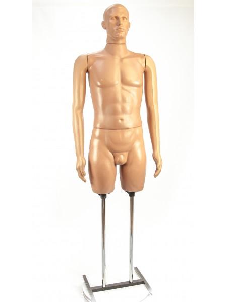 Манекен мужской в полный рост Сенсей  на Н-подставке.