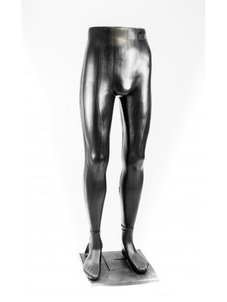Ноги мужские черные на подставке