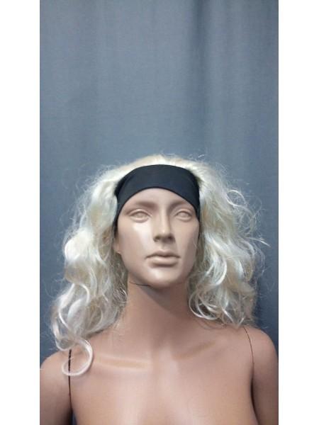 Парик для манекена (Блонд волнистый на повязке)