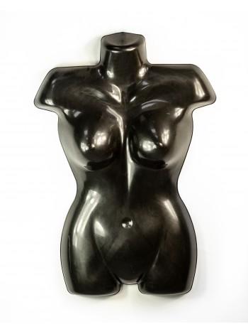 Манекен плоский пластиковый батальный черный