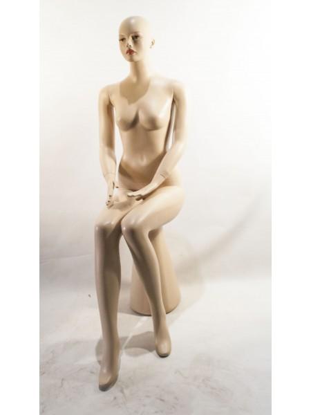Манекен женский сидячий FA2-9