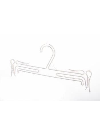 Плечики полупрозрачные пластмассовые для белья 25см