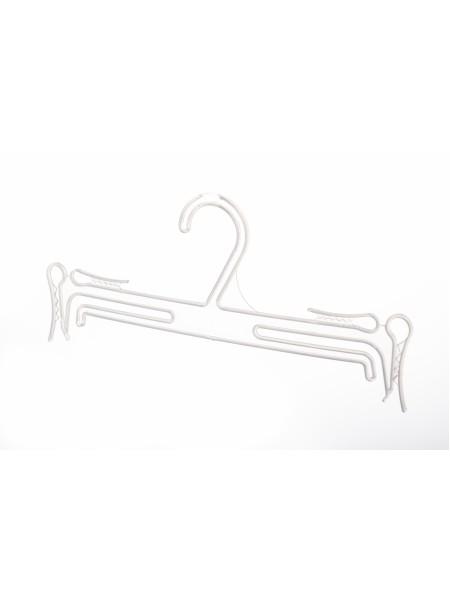 Плечики пластмассовые для комплектов нижнего белья матовые полупрозрачные  25см