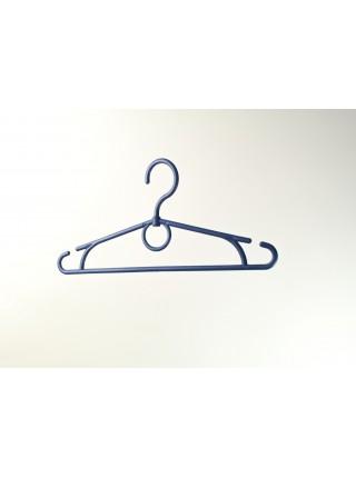 Плечики  32см синие пластмассовые с поворотным крючком для детской одежды