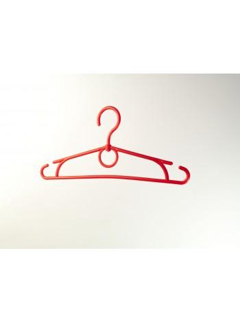 Плечики пластиковые для детской одежды 32см красные