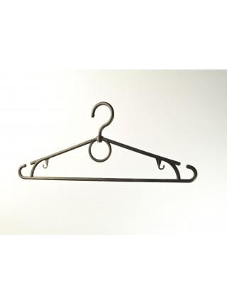 """Плечики """"Лето"""" черные пластмассовые для легкой одежды (эконом) 39 см"""