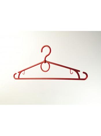 """Плечики пластиковые для легкой одежды """"Лето"""" красные 39 см"""