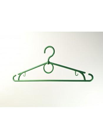 """Плечики пластмассовые с поворотным крючком для легких вещей """"Лето"""" зеленые 39 см"""