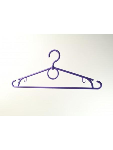 """Плечики пластиковые гладкие для легкой одежды """"Лето"""" фиолетовые 39 см"""