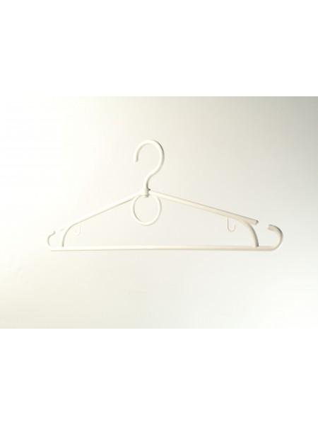 """Плечики пластиковые с поворотным крючком для легкой одежды """"Лето"""" белые 39 см"""