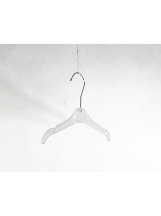Плечики пластиковые для трикотажной одежды и белья детская ВТ-2 26 см P1 (полупрозрачные)