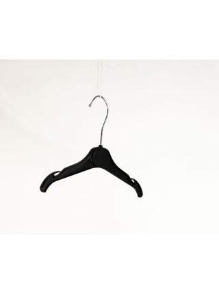 Плечики пластиковые для трикотажной одежды и белья детская ВТ-2 26 см P2black (черные)