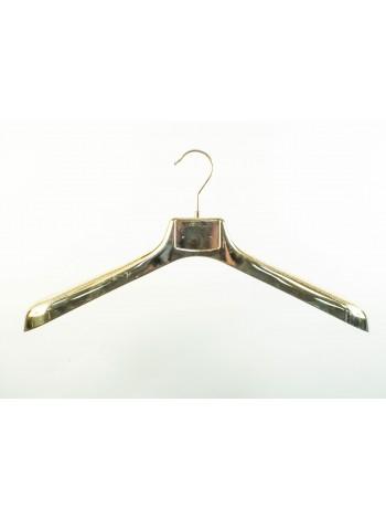 Плечики пластмассовые ВОП 47/6 металлизированные (Золото) 47 см