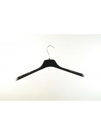 Плечики-вешалка пластиковая универсальная для любых видов одежды ВОП-42/2,8см S3black (черная) 42 см.