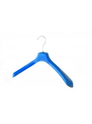Вешалки широкие пластмассовые для детской верхней одежды ВОП 38/5 синие