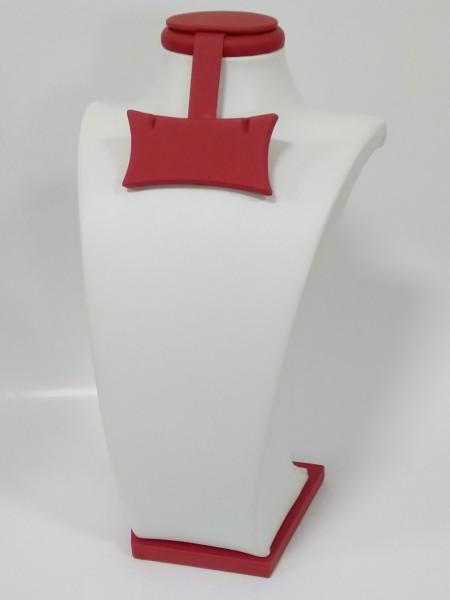 Подставка бюст для украшений с бабочкой (под серьги)