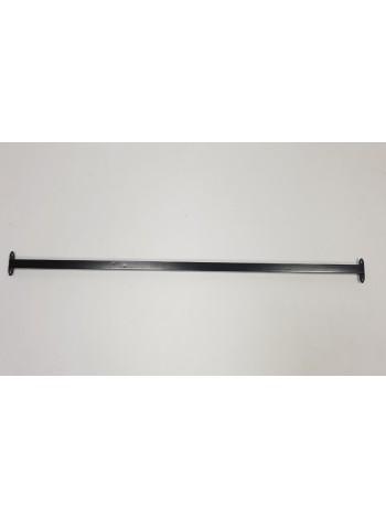 Перемычка соединительная для реек-опор 90см черная