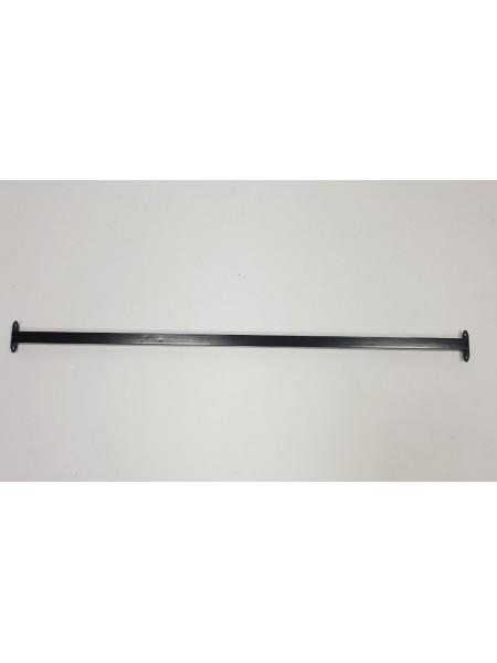 Перемычка соединительная для реек-опор 120см черная