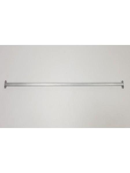 Перемычка соединительная для реек-опор 100см металлик