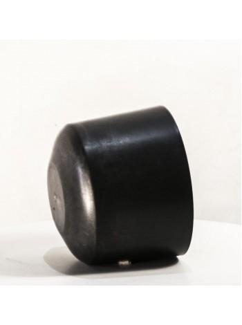 Подставка - горшок (колпак) пластиковая черная для шапок диаметр 17 см.