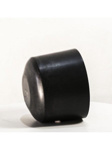 Горшок - стакан пластиковый обьемный полый для демонстрации шапок диаметр 17 см.