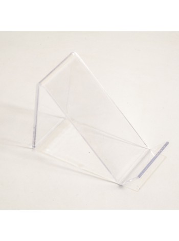 Подставка под обувь прозрачная пластиковая 7 см зигзаг gpps1