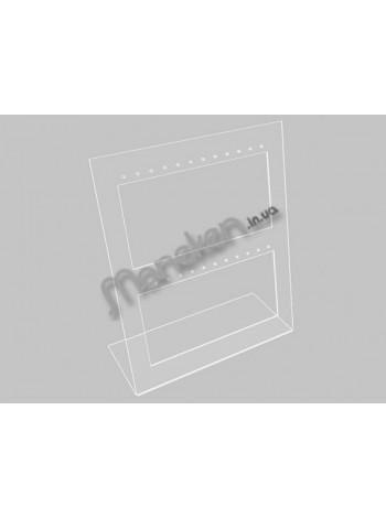 Подставка для сережек (12 пар) простая