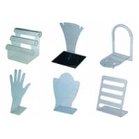 Подставки прозрачные пластиковые
