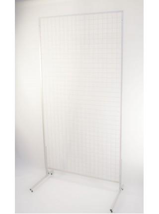 Сетка 1500х800 с покраской в белый цвет (рамка17мм) без ножек