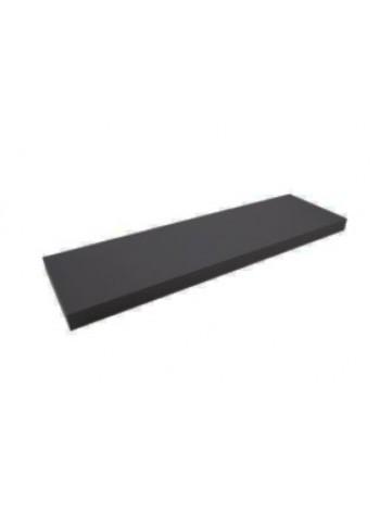 Полка ДСП черная 250х900