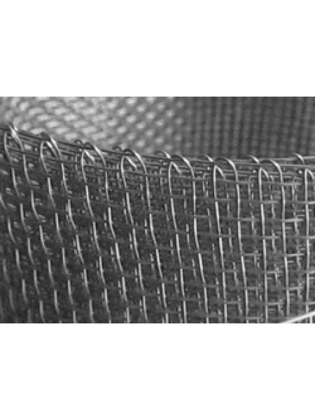 Сетка тканая нержавеющая #10х10 мм , ф2 мм (погонный метр)