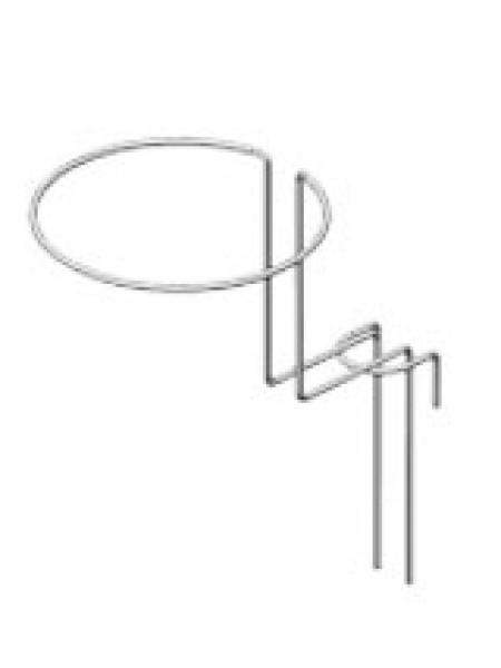 Крючок-кольцо двойной для шапок с креплением на сетку
