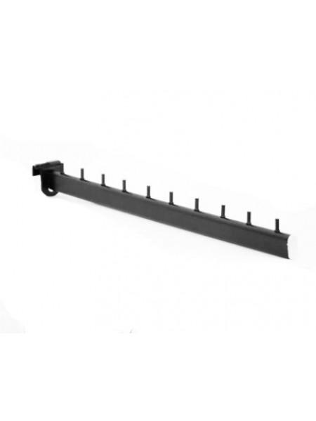 Флейта с креплением для стойки черная