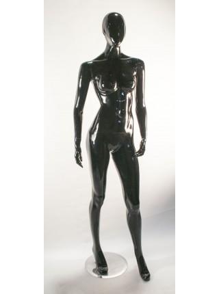 Манекен женский черный глянцевый B1-50 С1-1