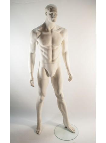 Манекен мужской белый K1-51 С2-1
