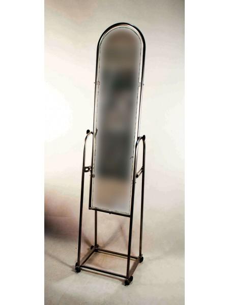 Зеркало напольное черное ширина 25 см