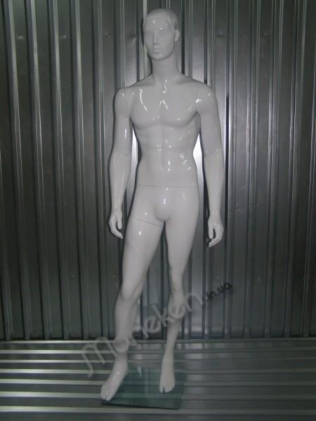 Манекен мужской K 37-4 белый