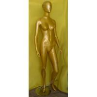 Манекен  женский МХ-001 золотой
