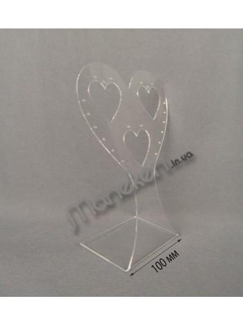 """Подставка для сережек """"Сердце"""""""