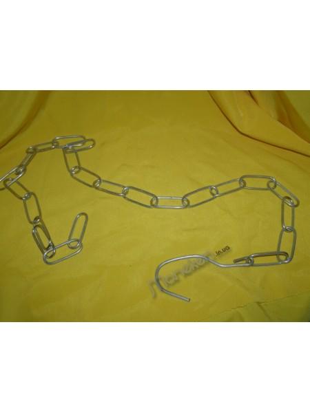 Цепь торговая металлическая Ф3,5