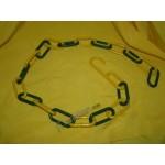 Торговые цепи из пластика и металла