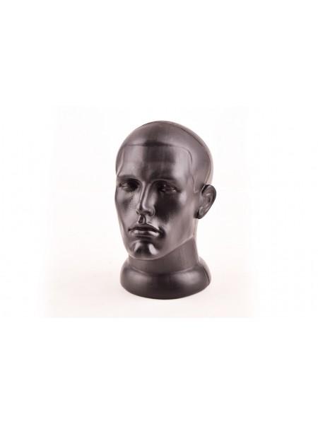 Манекен голова мужская черный