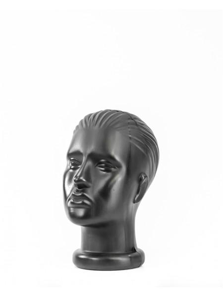 Манекен женская голова черный